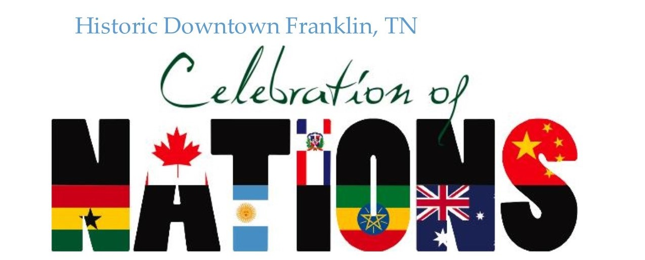 Join Us at Celebration of Nations, Downtown Historic Franklin, October 8, 2016