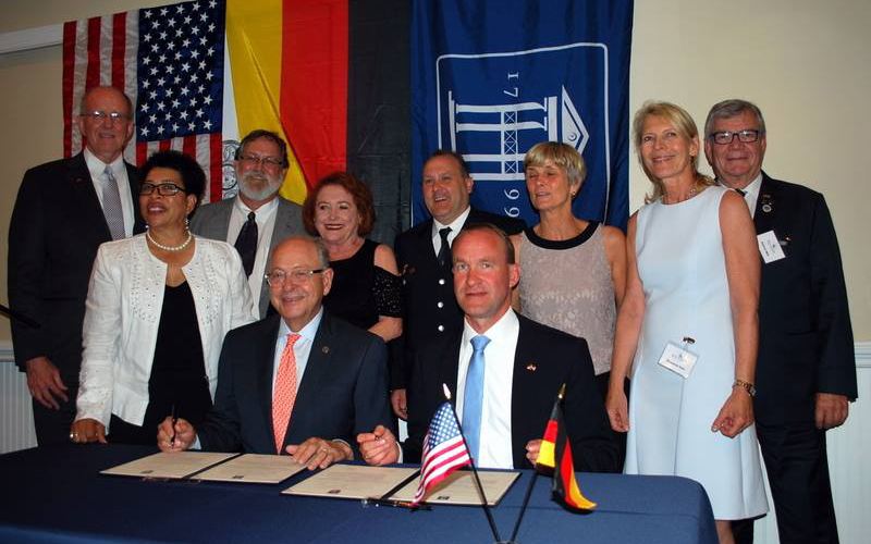 Bad Soden, Germany Sister Cities Signing