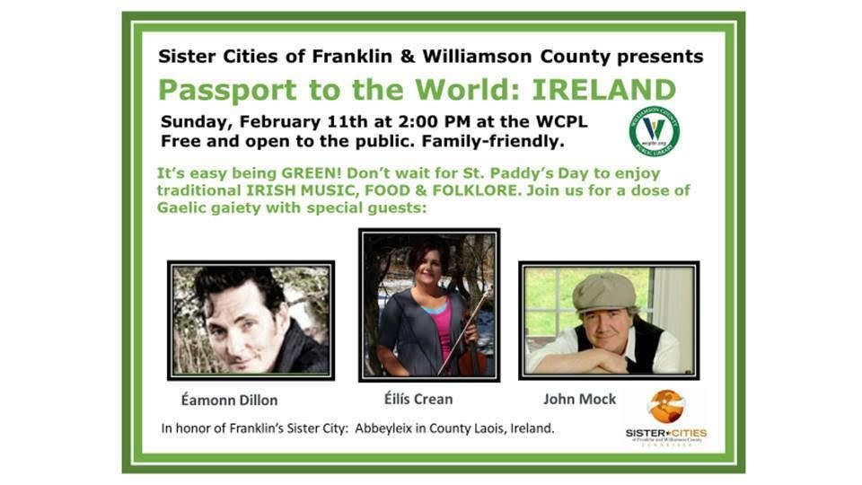 Passport to the World Ireland